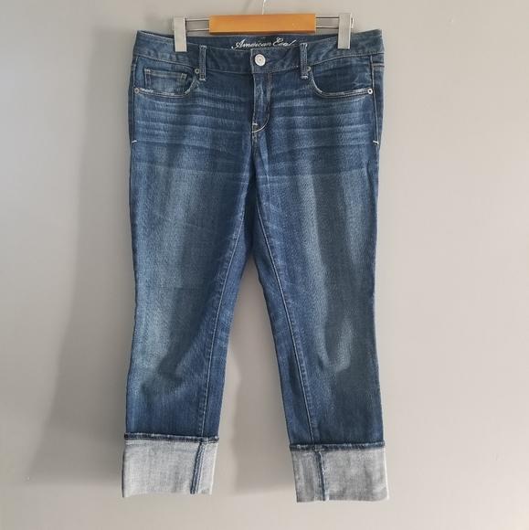 American Eagle 10 Short skinny Jeans